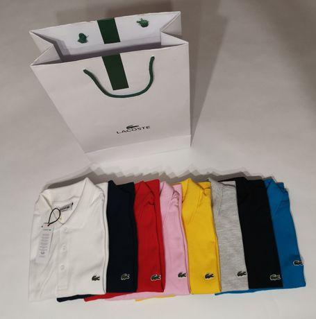 LACOSTE - Nowe meskie koszulki polo ! Oryginał ! S M L XL XXL