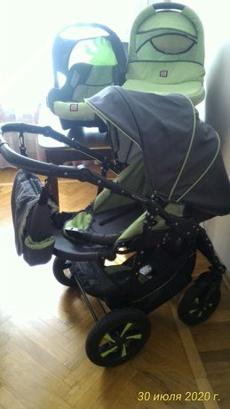 Детская универсальная коляска 3 в 1 Verdi Sonic