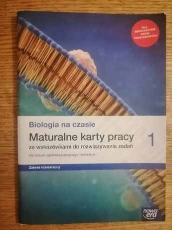 Maturalne karty pracy z biologi 1