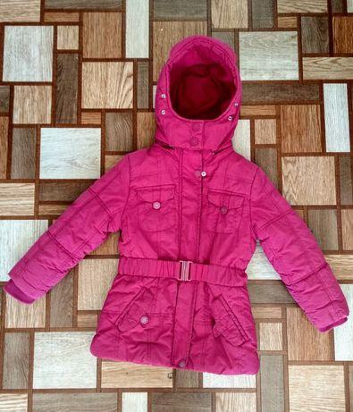 Зимняя удлинённая курточка