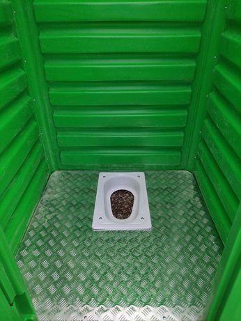 Напольный унитаз Чаша Генуя в Туалет или биотуалет. Унітаз на дачу