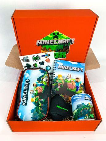 """Набор Minecraft Box Майнкрафт Бокс """"Maxi Box"""" Пенал футболка маска"""