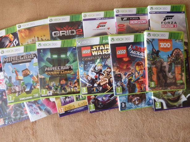 gry XBOX 360 DLA DZIECI Wyścigi TANECZNE na KINECT LEGO inne xbox 360