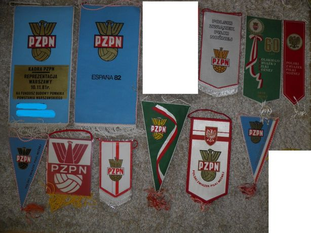 Proporczyki PZPN PKOL mistrzostwa świata mecze reprezentacji