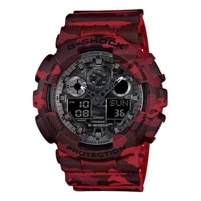 Zegarek CASIO G-SHOCK GA-100CM-4AER moro jak nowy