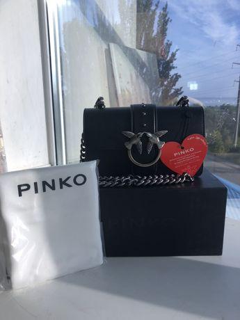 Сумка Pinko с коробкой, пыльником и ремешком
