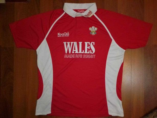 Футболка регбийная, джерси Уэльс KooGa (Wales) Rugbu