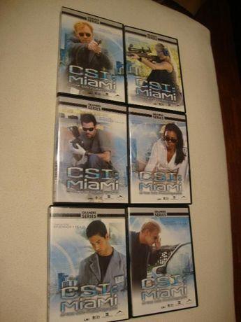 6 DVDs série CSI