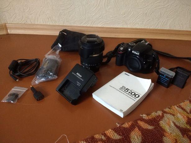 Nikon D5100 + Tamron 18-270 f/3.5-6.3 Di II (со стабом)