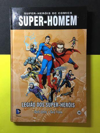 Super-Heróis DC Comics. Super-homem - Legião dos super-heróis