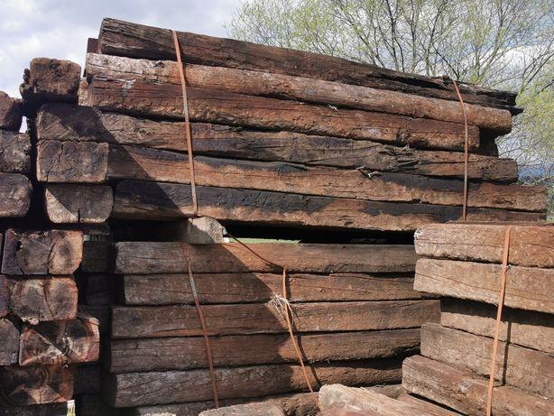 Podkłady drewniane nie(kolejowe)