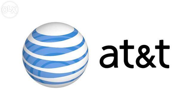 Разблокирую любой девайс от оператора AT&T