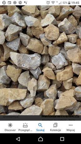 Kruszywo kamien grys ziemia piasek