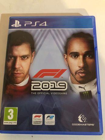 Jogo PlayStation 4-fórmula 1