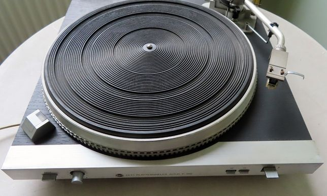 Gramofon Altus P-100; adapter; unitra