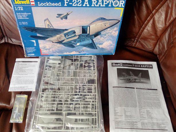 Model F22A Raptor Revell
