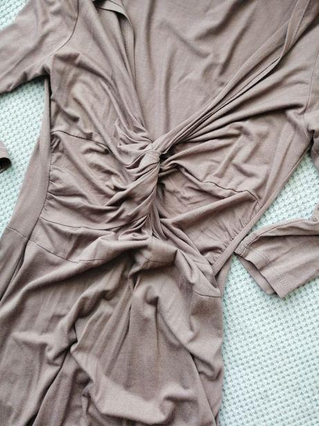 Super sukienka midi rozmiar M/L, może być ciążowa