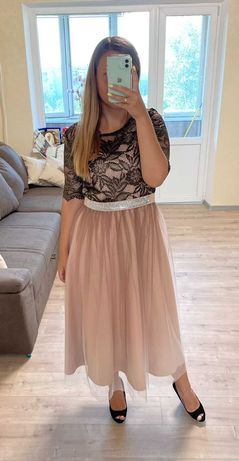Вечернее шикарное платье
