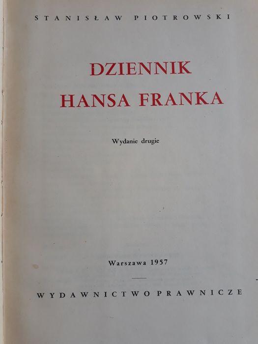 Dziennik Hansa Franka; Stanisław Piotrowski Przemyśl - image 1
