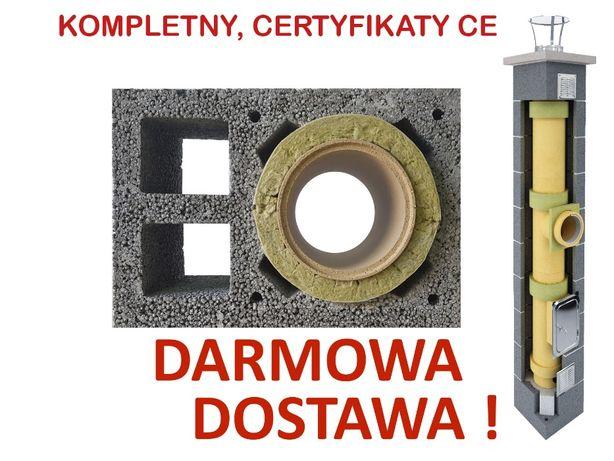 KOMPLETNY komin ceramiczny system kominowy KW2 fi 200 9m najtaniej