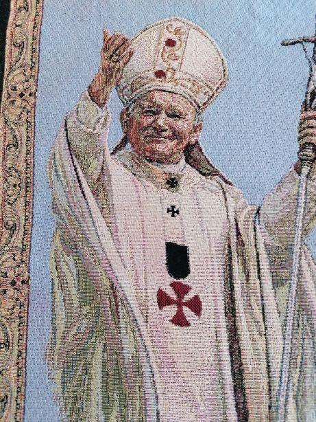 Gobelin obraz antyk Jan Paweł II