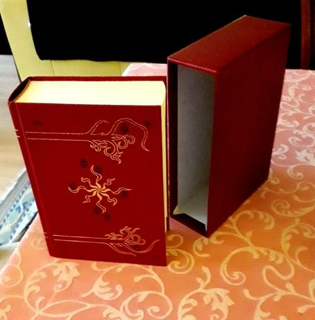 J R R Tolkien - Senhor dos Anéis - HMCo Collectors Ed.Leather Slipcase