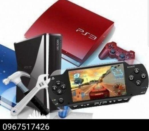 Ремонт та обслуговування ігрових консолей Xbox One/Xbox 360/PS3/4