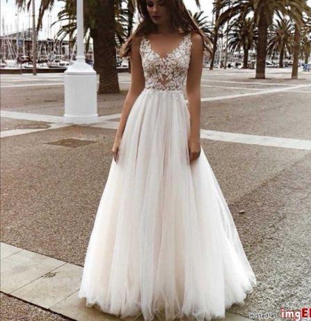 Suknia ślubna tom sebastien zafira+ welon 2,5m gratis
