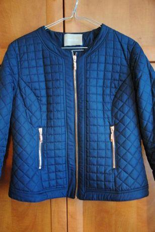 Granatowa pikowana kurtka przejściowa ORSAY rozm. 40