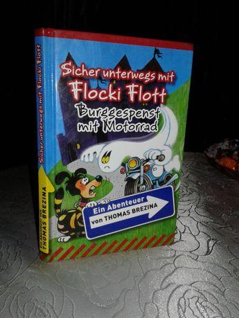 Книга на німецькій ( немецком) Ein Abenteuer Flocki Flott