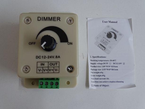 Dimmer para controlo de luz LED