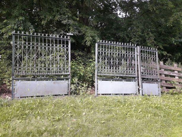 Ogrodzenie brama i furtka