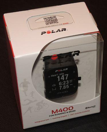 Pulsometr zegarek Polar M400 GPS HR + h7 sensor pasek