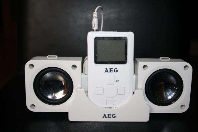 Leitor MP3 com colunas AEG-Electrolux MMS 4204