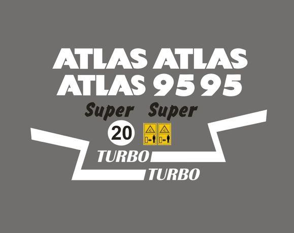 ATLAS ar 95 zestaw naklejek