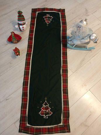 Ozdoby świąteczne serwetka Mikołaj  choinka balwan
