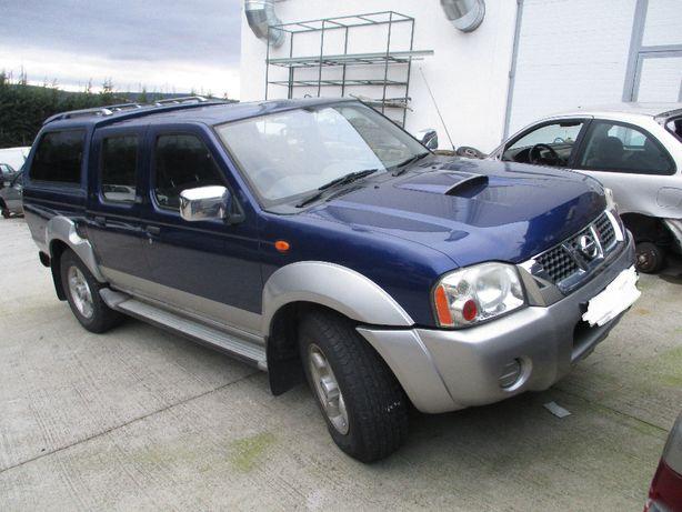 Nissan D22 Navara 2.5D de 2002
