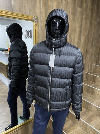 Куртка мужская зимняя как dior теплая