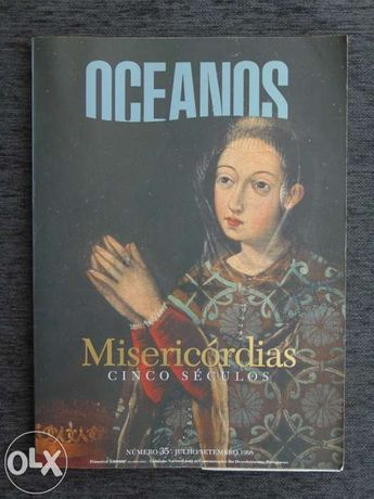 Revista oceanos n.º 35, jul/set 1998, tema: misericórdias