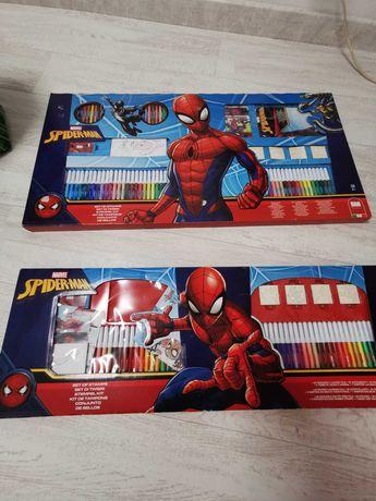 Conjunto marcadores lápis spiderman