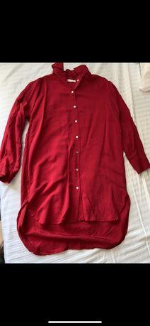 Рубашка zara , женская рубашка