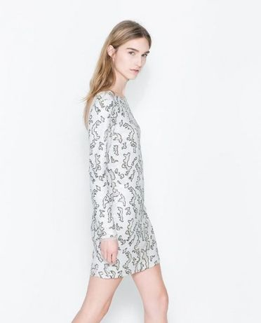 Sukienka Zara Woman 36 cekiny
