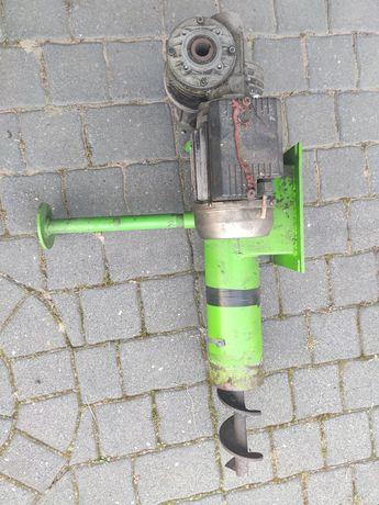Ślimak i silnik napędzający do pieca her 25kW