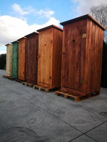 Toaleta Drewniana Zwykła Tania WC Wychodek ustęp Promocja 2021