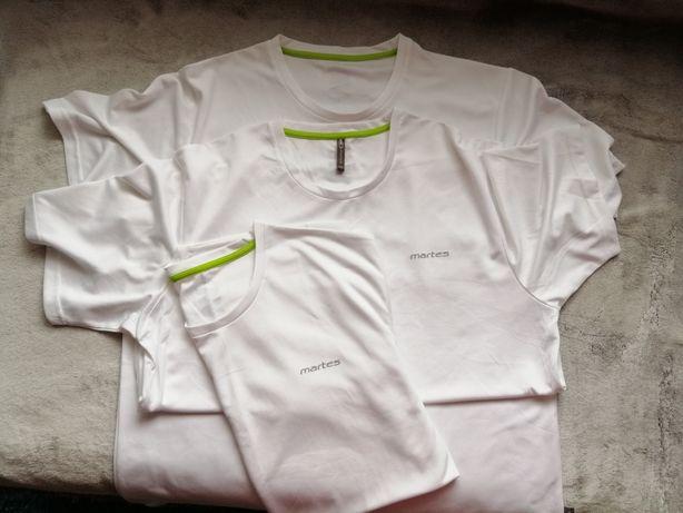 Tshirt koszulka sportowa martes biala rozm. L