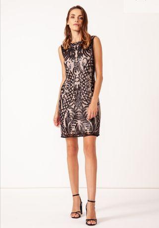 Sukienka solar cekinowa oz 36 jak nowa