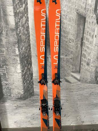 Narty SkiTrab/ La Sportiva Altavia 164cm + Atomic Backland + foki