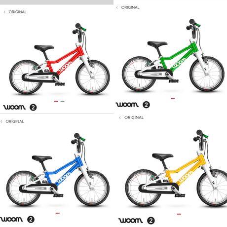 Rower Woom 2 rozne kolory nowy gwarancja 2021