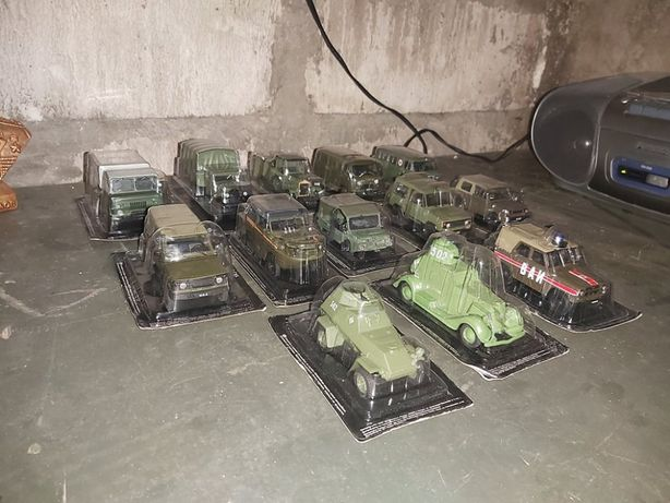 Автомобили армейские