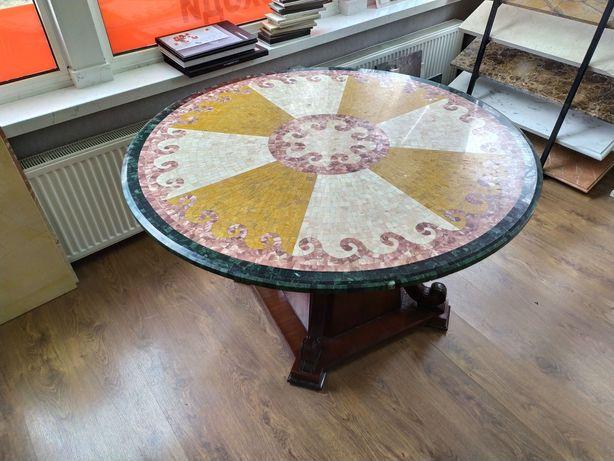 Стол мозаика из Индийского мрамора